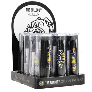 Display de 12 machines à rouler The Bulldog pour feuilles slim