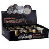 Display 12 Grinders 3 parties Barillet 40 mm