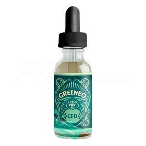 E liquide Greeneo CBD Chanvre Fresh Puff 200 mg