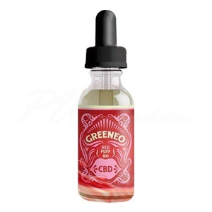 E liquide Greeneo CBD Chanvre Red Puff 400 mg